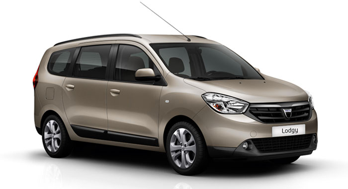 Dacia Lodgy 5+2 Seater